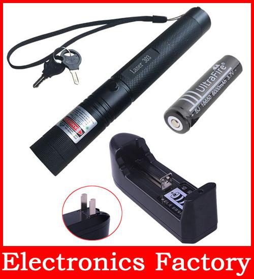 Laser 303 Power 532nm Light Flashlight Burning Match