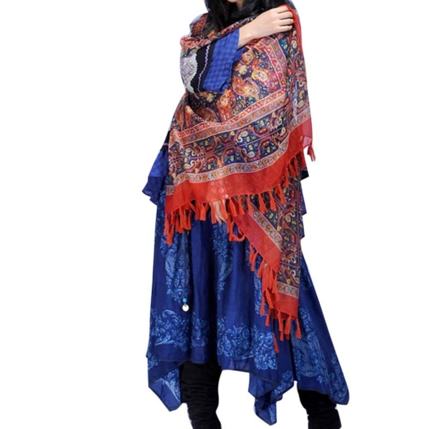 Beach Cover Up National wind retro scarf shawl scarves sunscreen Tunic Cover Sunscreen Clothing(China (Mainland))