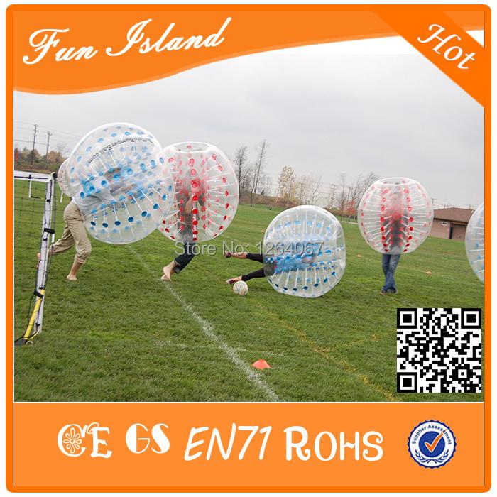 [해외], 1.2M는 1.0mm의 TPU 풍선 범퍼 거품 축구, zorb 공, 아이..