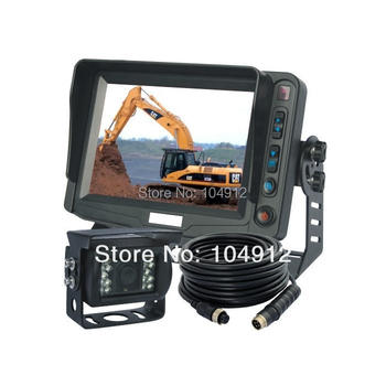 5 INCH BACK UP REAR VIEW CCD CAMERA SYSTEM, REVERSE TFT LCD
