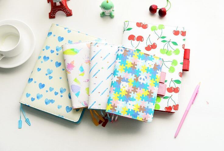 Hot diary Notebook color paper Tin cover Silent Night Creative Notepad book Note book Office School Supplies Gift(China (Mainland))