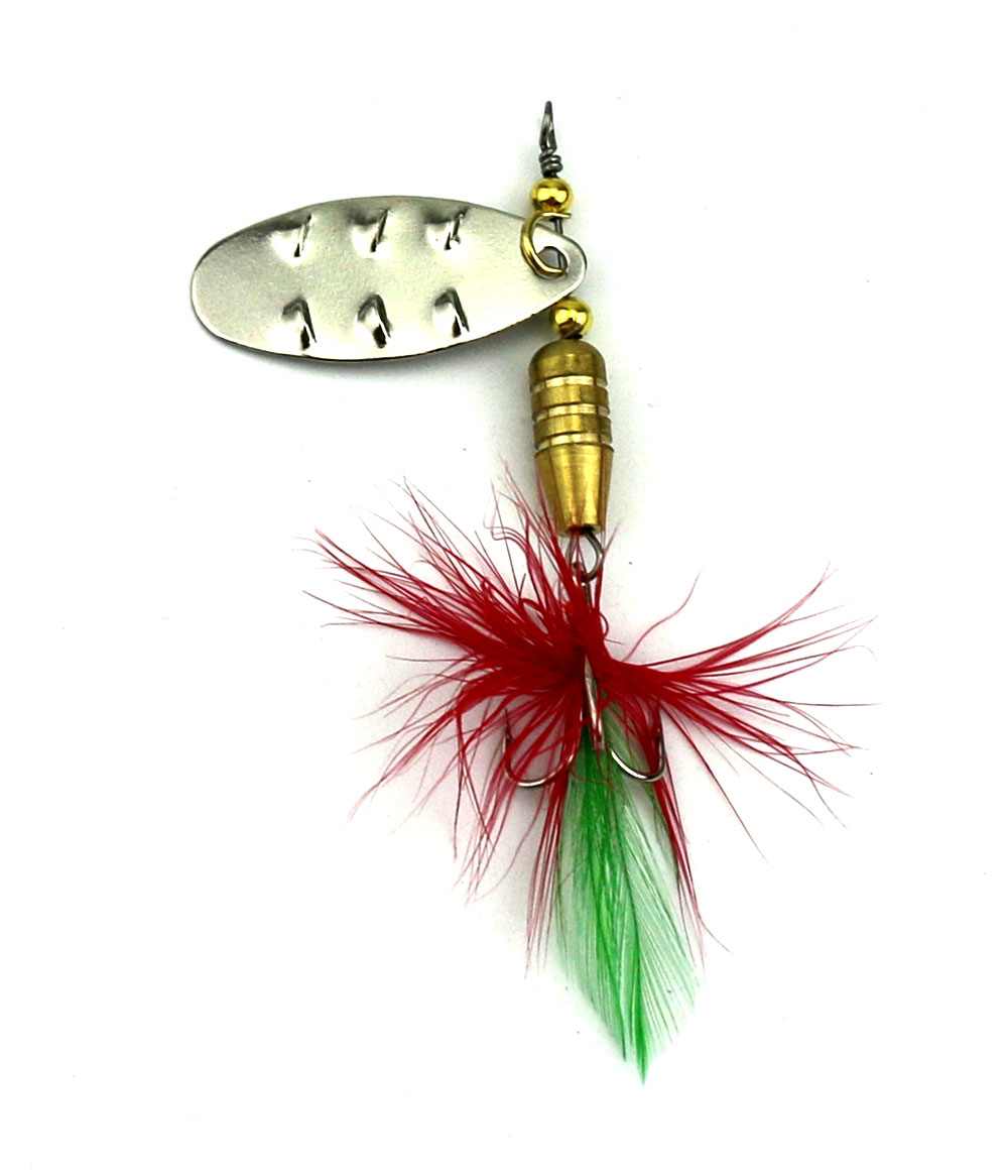 10Pcs Metal Sequins Fishing Lure Spoon Lure Hard Baits with Feather Treble Hook Pesca Fishing Tackle 6.4CM-6.8G<br><br>Aliexpress