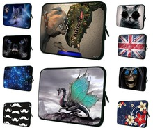 Animal Prints 7 8 inch Neoprene Laptop Sleeve For iPad Mini 2 Case Android Tablet Accessories Zipper Pouch Cover Bag For Mini PC
