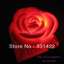 500pcs/lot  Rose flame less candles