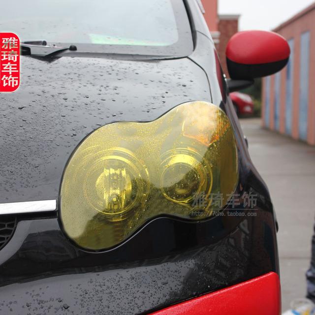 Car light membrane black film headlight rear light translucent film refires f0