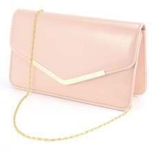 NEW RETRO PATENT WEDDING CLUTCH WOMEN BAG PROM EVENING HANDBAG PURSE