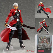 Mifen Craft 2016 Anime Fate Stay Night Saber Lily Emiya Shirou Archer Q Version PVC Action Figure Collectible Model Toy 18cm
