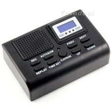 Mini Digital Telephone Voice Recorder Automatically record conversations LCD displays for all call information Support SD Card