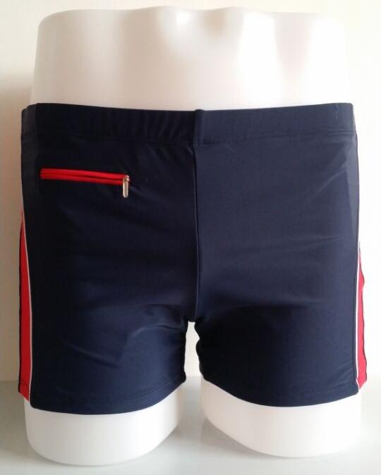 2015 new design men's swimsuit beach swimming trunks men plain brand sports style swimwear - The goddess of fortune store