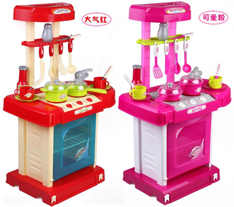 Hot sale toy set tableware child kitchen toys baby for Cheap kids kitchen set