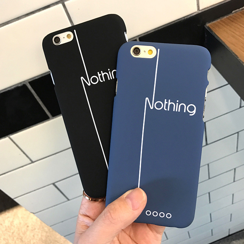 Nothing For Apple iPhone 6 6s 6plus Ultra Thin Phone Shell Frosted Plastic Matte Hard Back Case Cover For iPhone 7 7plus(China (Mainland))