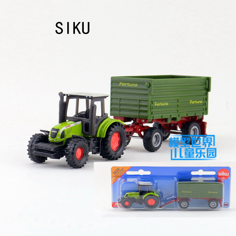 SIKU 1634# 1:87 tractor truck Alloy model car Farm tractor truck alloy car model children's toys kids cars toys kid gifts(China (Mainland))