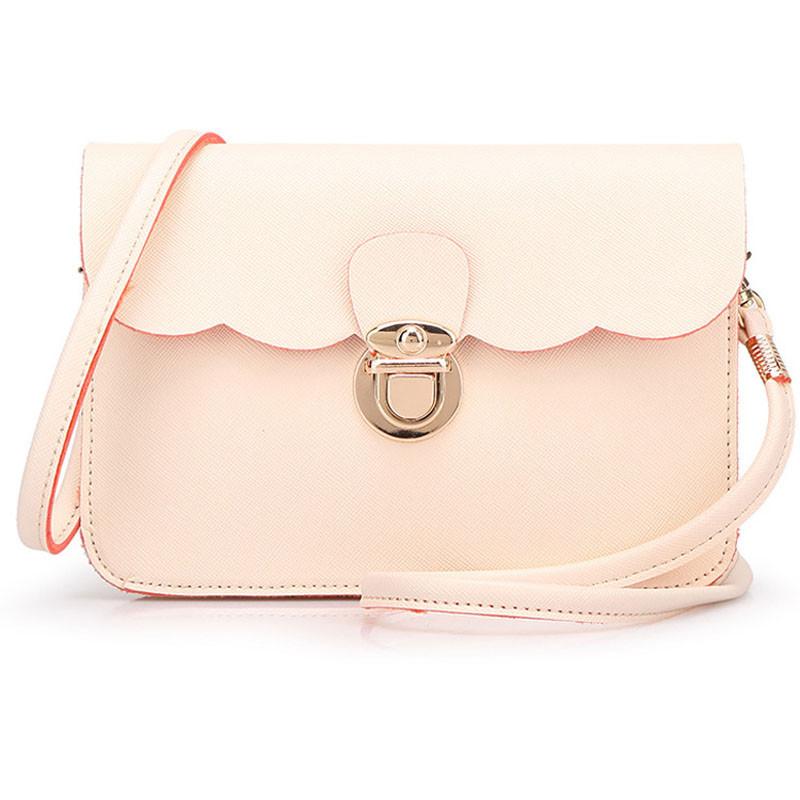 2016 Fashion Bags Women Hangbag Hot Sale Leather Women Message Bags Ladies Stylish Shoulder Bag Cheap Women Bag Free Ship Nice(China (Mainland))