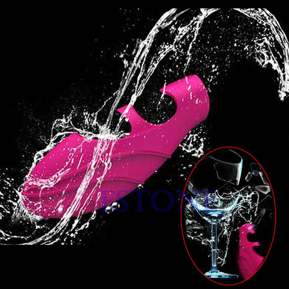 Y016 Free Shipping Woman G SPOT Massager Wonderful Waterproof Finger Vibrating Pleasure Sex Toys(China (Mainland))