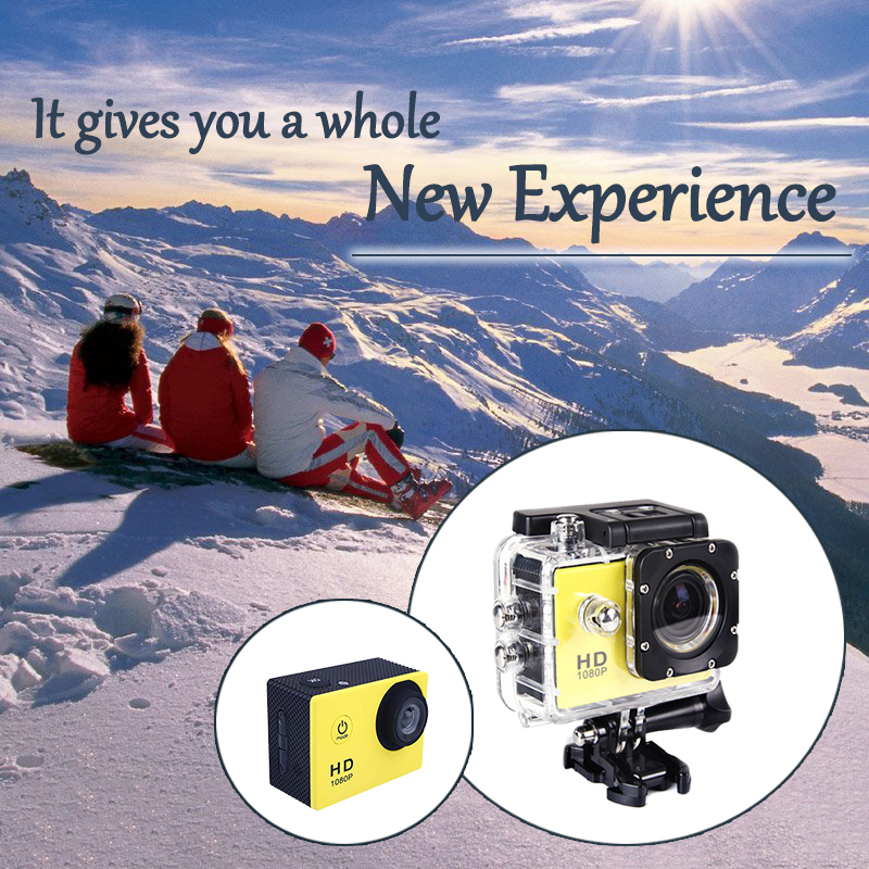 Sport Camera ST SJ4000 Camera 4K HD 720p 30fps 120 Degrees Waterproof Mini Sports pro Camera VS SJCAM SJ5000 Free Shipping от Aliexpress INT