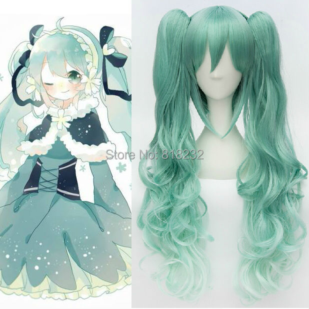 Buy Vocaloid Hatsune Miku Cos Anime Women Wig Cosplay