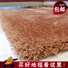 Thickening 6cm elastic wire carpet living room coffee table customize mats(China (Mainland))