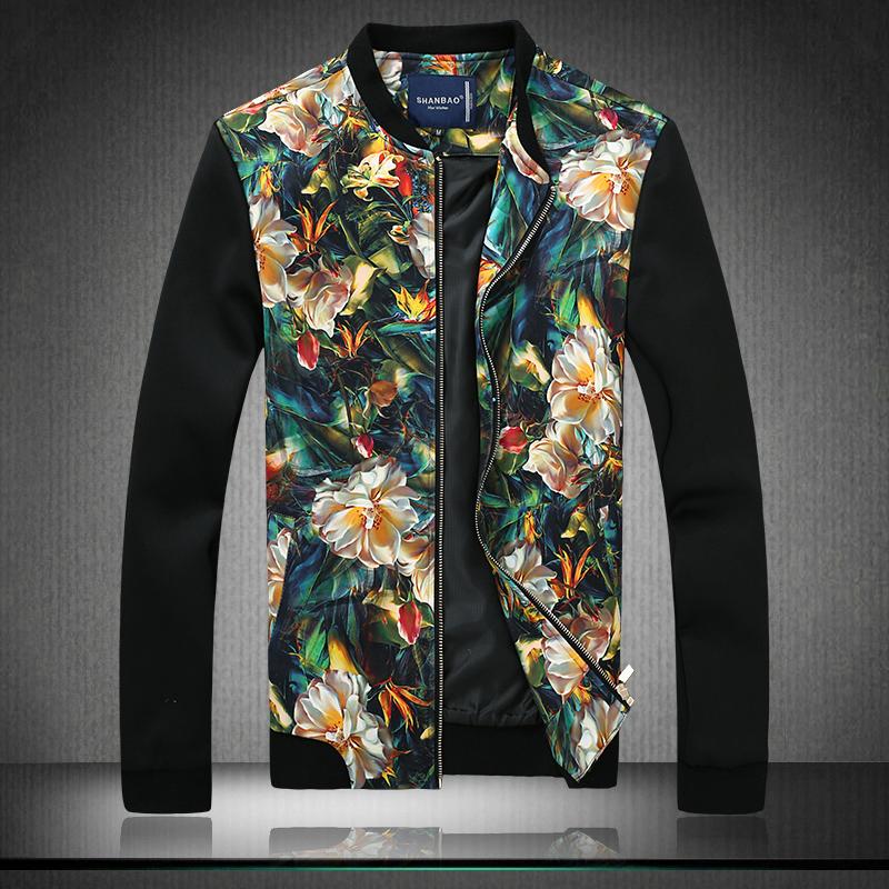 Men Jacket 2016 New Arrival Slim Men Jacket Fashion Korean Style Mandarin Collar Zipper Young Thin Men Jacket MWJ793()