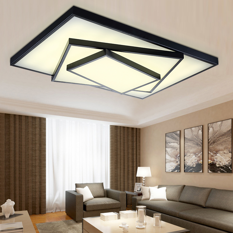 ceiling lights contemporary bedroom living room foyer lighting fixtures lampe kristall kurze modern led acrylic luminaria light(China (Mainland))