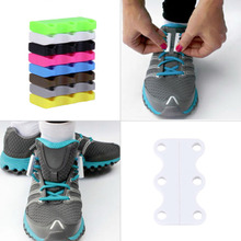 1 Pair Novelty Magnetic Casual Sneaker Shoe Buckles Closure No-Tie Shoelace New Worldwide sale(China (Mainland))