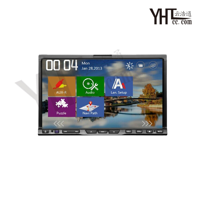 2015 New Car DVD player 7 inch For Universal car touch screen 2 Din audio Radio stereo USB Bluetooth TV GPS 1 year warranty(China (Mainland))