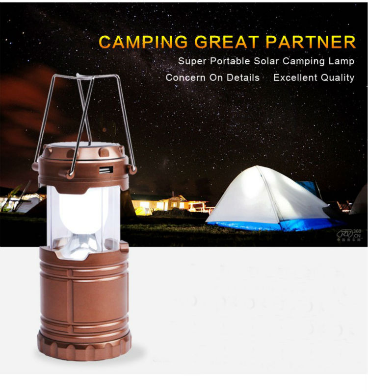 Outdoor environment Solar charging Hurricane lamp Fashion home decoration Camping lantern Multifunctinal travel kit tent light(China (Mainland))