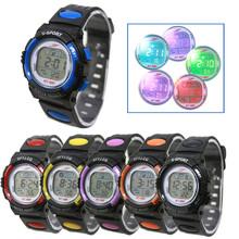 New good quality Outdoor Waterproof watches sport Children Boy Girl Alarm Date Digital Multifunction Sport LED Light Wrist Watch(China (Mainland))