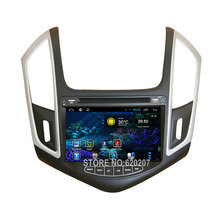 Quad Core Android 4.4 CAR DVD gps player navigation FOR CHEVROLET CRUZE 2013 car audio,car stereo Multimedia support OBD TPMS - AGOGO ELECTRONICS CO.,LTD store