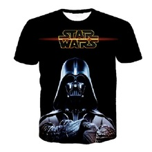 Hot Darth Vader Eulogy 3D Print T-shirt Star Wars Cotton Unisex Tee Shirts Plus Short Sleeve Casual Homme Loose Summer Tops