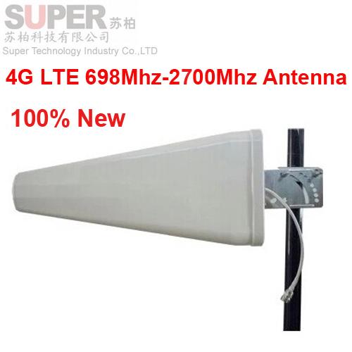 100% new 11dbi gain 4G antenna 698-2700Mhz LTE GSM outdoor LDP panel antenna,WCDMA booster Logarithm Directional antenna 4G(China (Mainland))