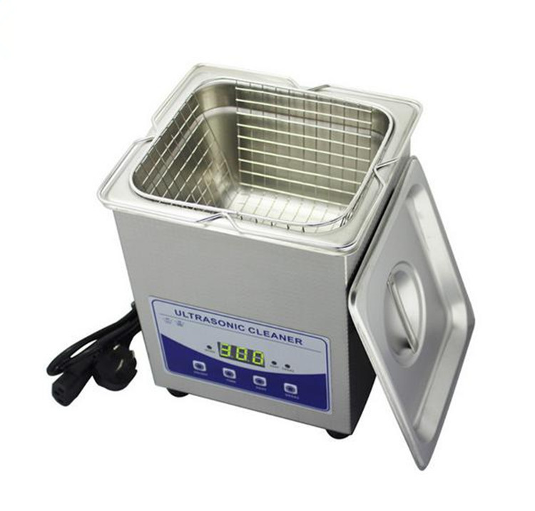 New arrivial! degassing function ultrasonic denture cleaner China supplier 2L(China (Mainland))