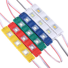 Hot Sale DC12V 5630 SMD 3 LED Module Injection Waterproof IP55 Decorative Hard Strip Bar Light Lamp White Red Green Yellow Blue(China (Mainland))