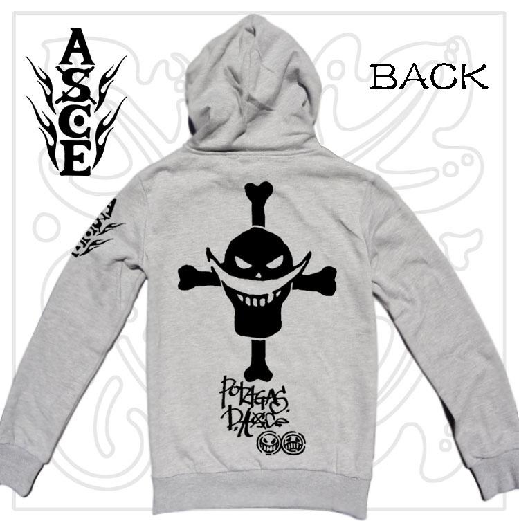 "! DIY hoodie, One Piece ""White Beard Logo"" printing, Thick Winter Outerware/Coat, 2 styles~~~~"