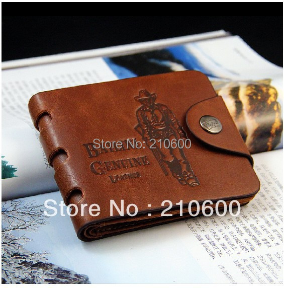 Free shipping 2015 new stylish Men wallet+ genuine cow Leather +Pockets RFID Card Clutch Cente Bifold Purse ,dropshipping(China (Mainland))