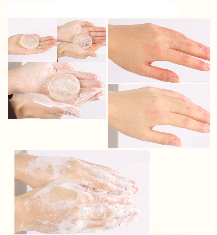 1pcs Beauty Natural Enzyme Crystal Body Whitening Soap Private Parts Perineum Pink Dilute The Areola Labia Removing Melanin(China (Mainland))