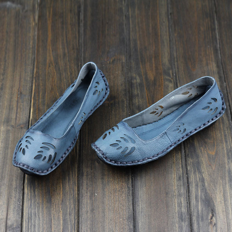 Гаджет  2015 New arrival women genuine  leather flat shoes woman slip on loafers special cut-out upper(ls706) None Обувь
