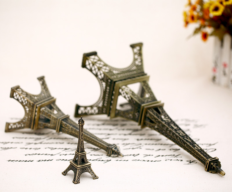 Sallei photography props photo props mini eiffel tower Medium tower<br>