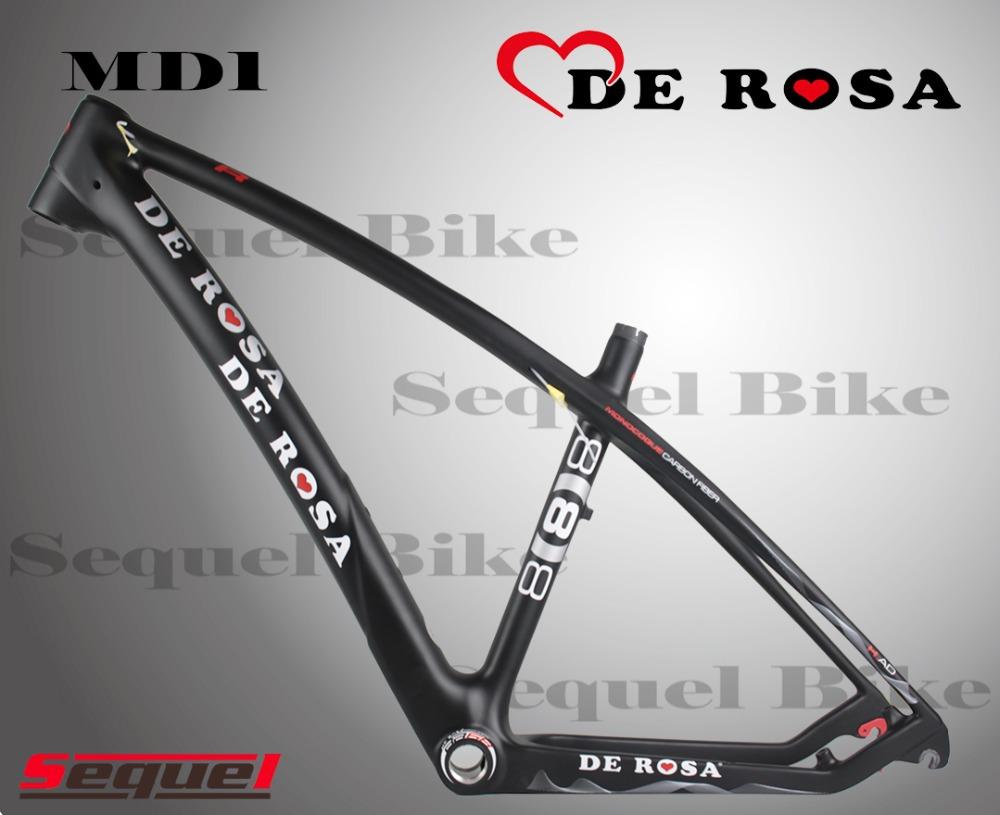 SEQUEL MTB DE ROSA 888 MD1 carbon mountain bike frame carbon fiber bike frame 695 WHEELS CLINCHER DI2 mechanical 986(China (Mainland))
