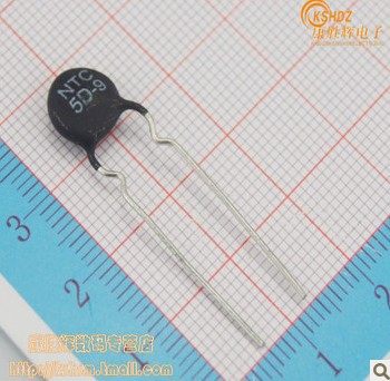 Free shipping 50PCS NTC 5D 9 thermal resistor thermistor thermister