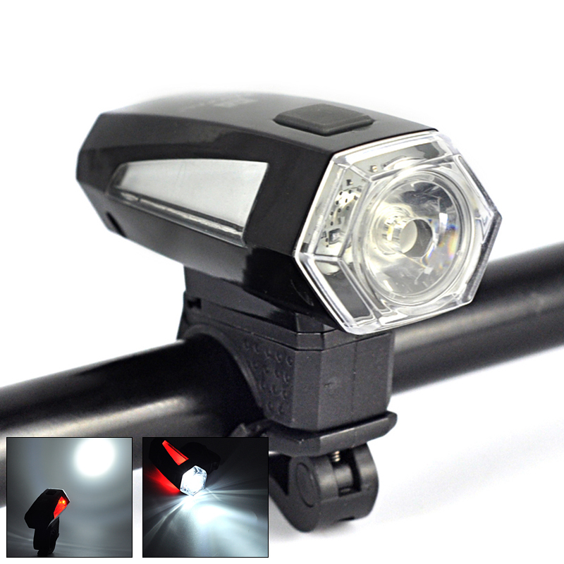 300Lm LED Bicycle Light & 2 Modes Mini Flashlight Torch Bike Front Light Cycling Lamp+Adjustable Mount(China (Mainland))
