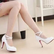 wholesale white wedding heels
