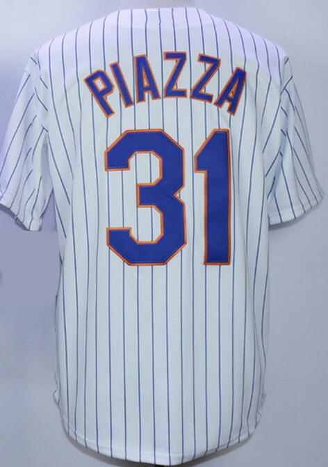 Mike Piazza Jersey Baseball Jerseys Embroidery Logo Sports throwback Jersey Sportswear(China (Mainland))