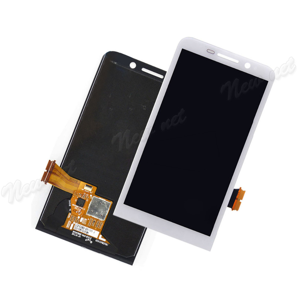 Фотография Black / White Full LCD Display+Touch Screen Digitizer Panel Glass Lens Assembly For BlackBerry Z30 Replacement Parts Repair Part