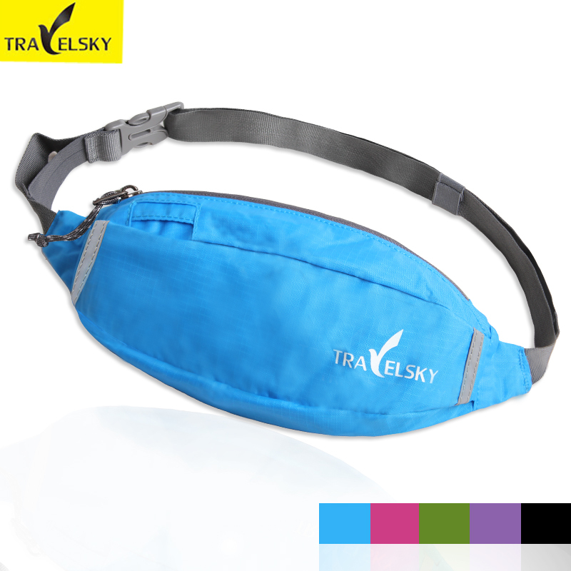 Waist bag Waterpoof Nylon take phone credit cards changes in fashion chest pocket bag 5 colors 16505(China (Mainland))