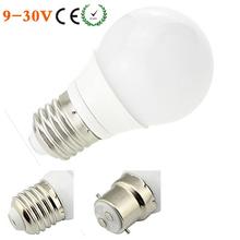 Buy E27 COB LED Bulb B22 Lamp 6 SMD 3W Milky Cover 12V 24V 220V 240V E26 Base 110V 120V AC Warm White/White 10Pcs/Lot for $29.35 in AliExpress store