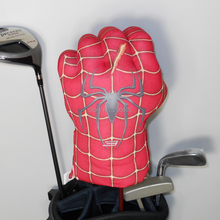 Free shipping Golf Animal Headcover for Fairway Wood or Hybrid Golf Club head, The Spider Boxing set