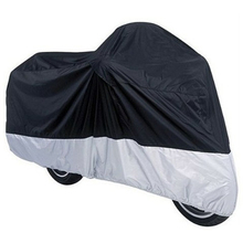 Big Size  Motorcycle Covering Waterproof Scooter Cover Durable Anti-UV Motorcycle Cover(China (Mainland))