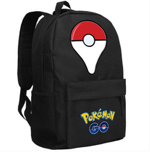 Game Pokemon GO Cosplay Backpack Anime Pocket Monster backpack cartoon Student Oxford School Bag Unisex