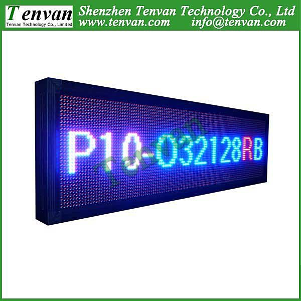 Free shipping led panel advertising with RBP color, high brightness and size 136cm(W)*40cm(H)(China (Mainland))