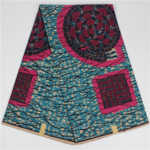 Buy 2017 Wholesale classic style veritable dutch real wax hollandais wax,african printed fabric 100% cotton Nigeria (TQD-4 for $42.23 in AliExpress store